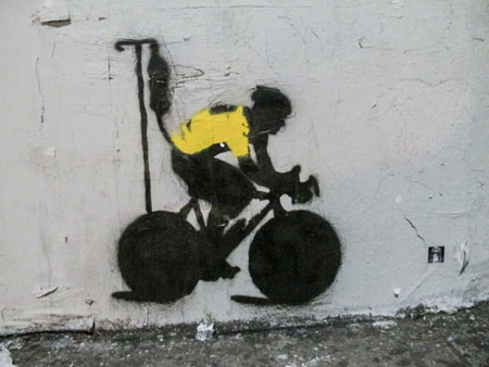 STERN EXCLUSIVE LANCE ARMSTRONG GRAFFITI-101